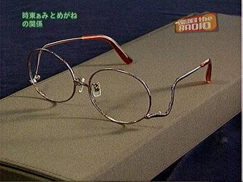 オリジナルメガネ。