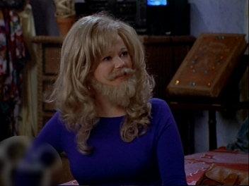 髭ヒルダ。