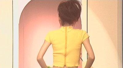 舞美ちゃん背中。