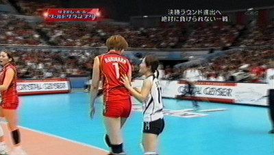 メグ&佐野選手。