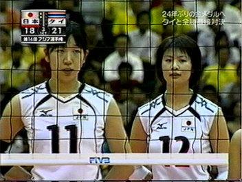 アジア選手権東レ組。