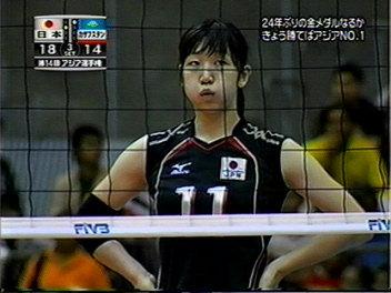 アジア選手権えりか。