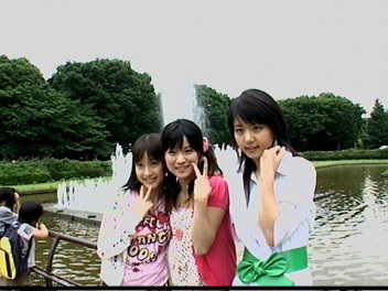 上野公園噴水。