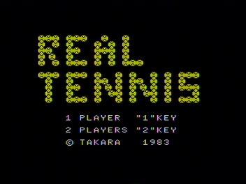 リアルテニス。