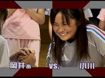 腕相撲岡井ぁvsサキチィ戦。