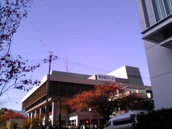 東別院会館。