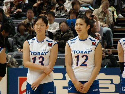 高田ありさ&佐藤美耶。