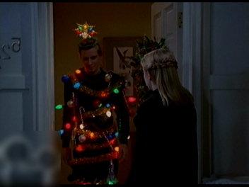 クリスマスな男。
