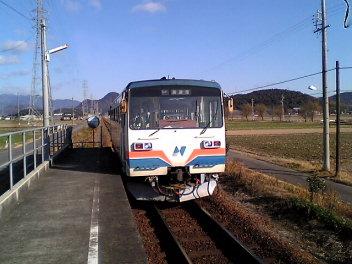 長良川鉄道。