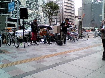 名駅の風景。