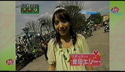 花咲かディズニー豊田エリー。