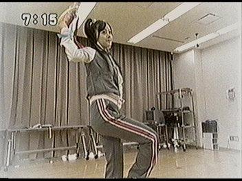 踊るきらりちゃん。