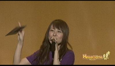 BOOM3絢香さん。
