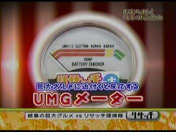 UMGメーター。