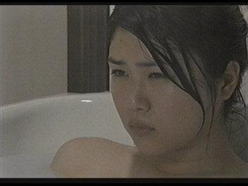 のんちゃん入浴。