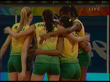 ブラジルチーム。