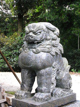 染井神社大門1