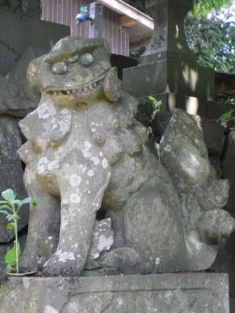 田島神社横竹5