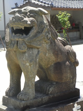 田中八幡宮笹栗1