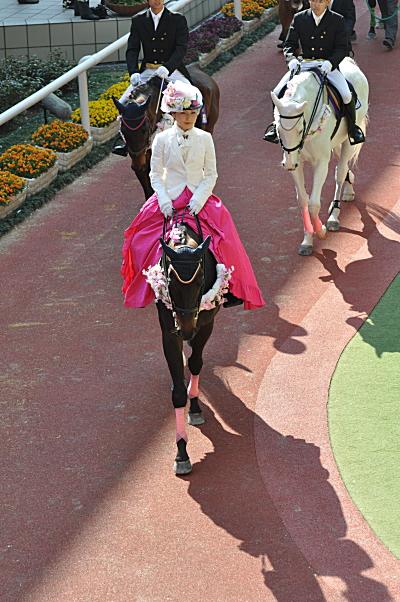 2009桜花賞パドック