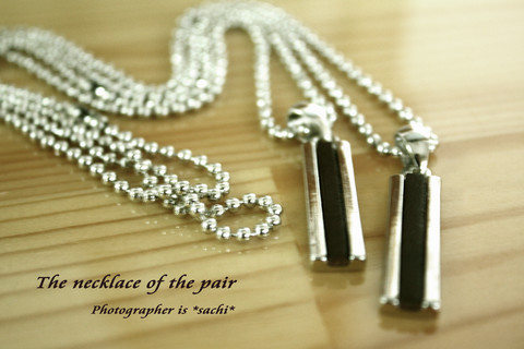 *Necklace of pair*
