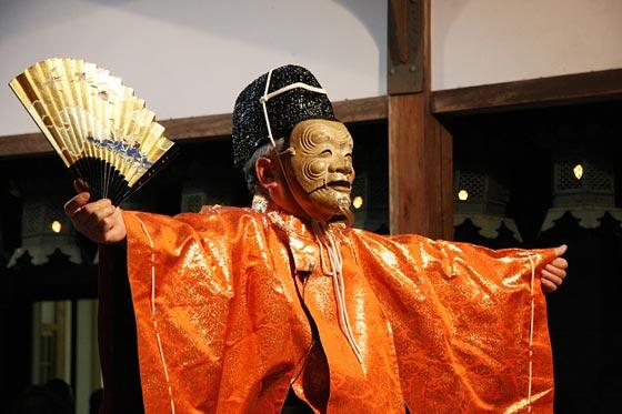 奈良豆比古神社 翁舞 2008 / 奈...