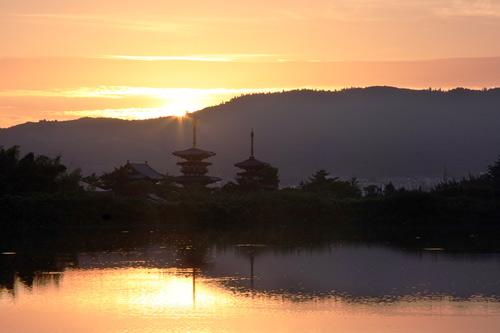 夜明の西ノ京