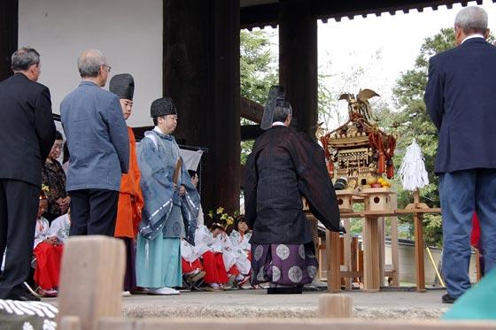 転害会‐祭式2