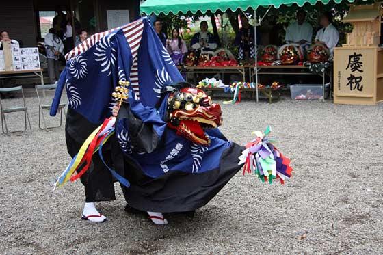 四社神社 神楽獅子1