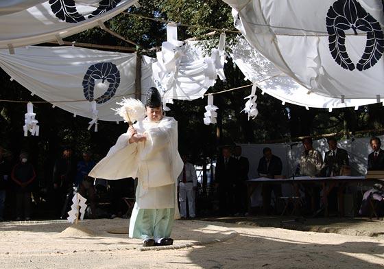 おん祭 相撲1