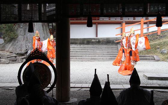 春日大社 舞楽始式1
