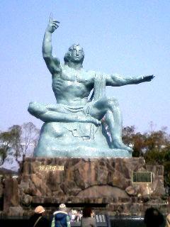 平和祈念像(*・