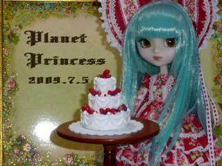 プリュネラ&3段ケーキ