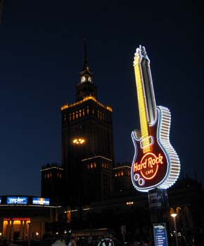 ポーランド Hard Rock Cafe Warsaw