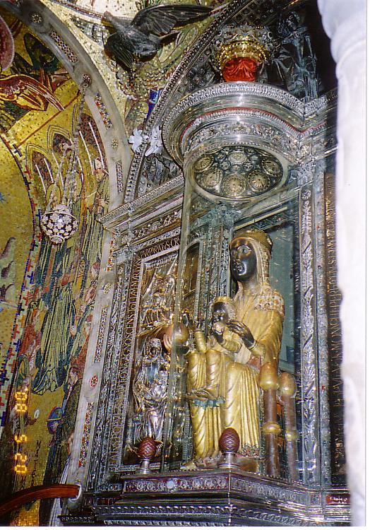 モンセラ黒い聖母