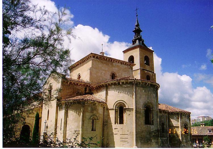 セゴビア・サン・エステバン教会