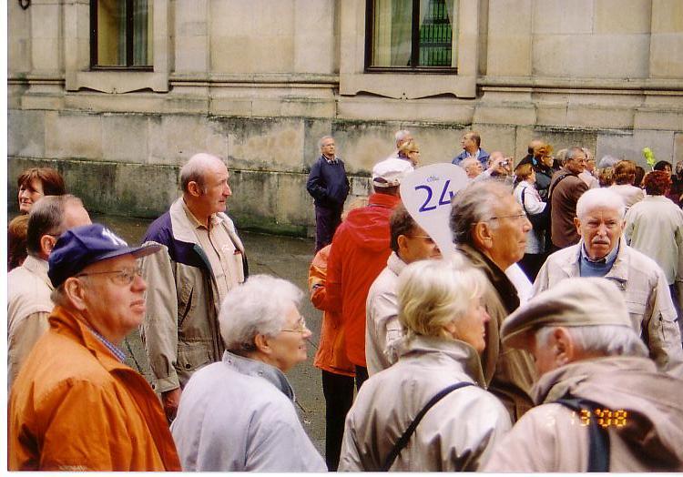 サンチァゴ観光客