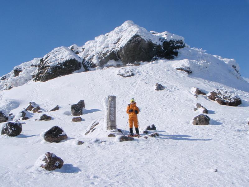 2009.01.26安達太良山頂