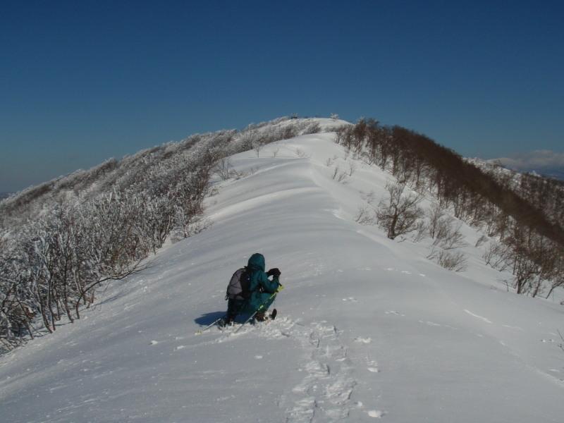 2009.01.28雄国山頂手前