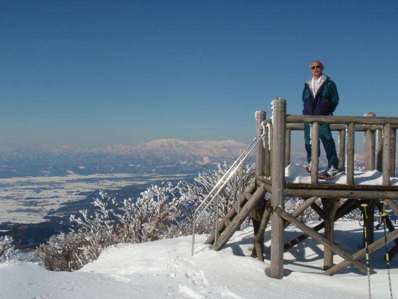 2009.01.28雄国山頂からの飯豊山
