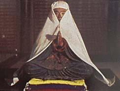 187中将姫坐像