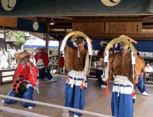 himatsuri1火祭稚児の舞
