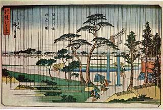 shirohige広重白雨