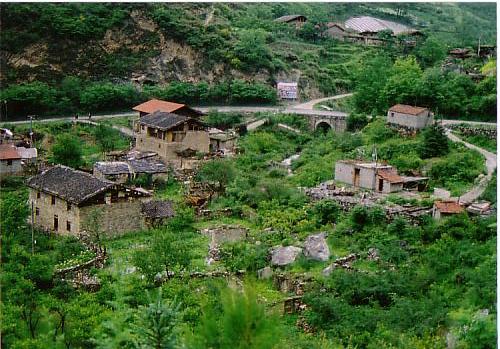 チャン族の村