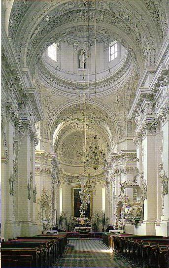 ヴィリニュス大聖堂身廊