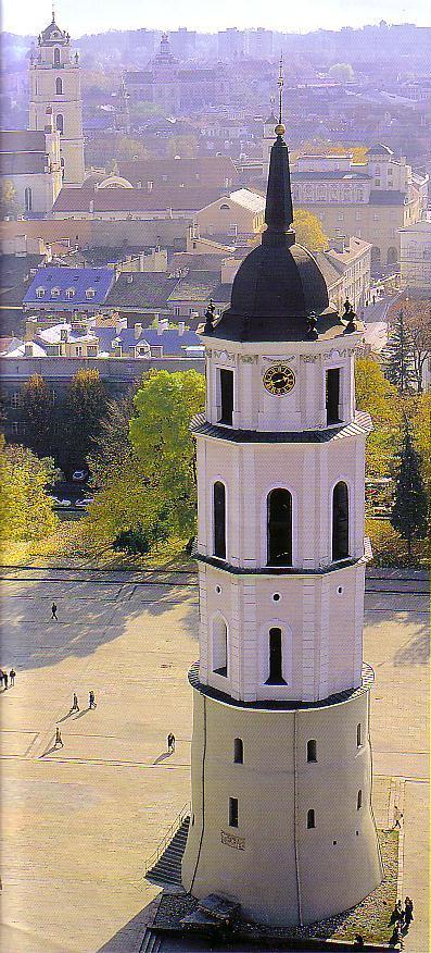 ヴィリニュス大聖堂鐘楼