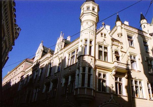 リガ旧市街建築群①