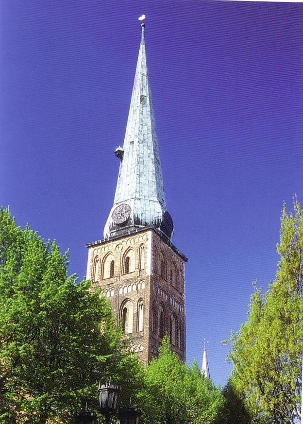 リガ聖ヤコブ教会尖塔