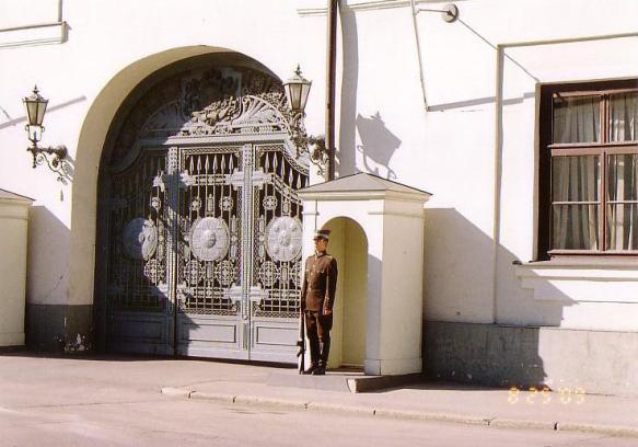リガ大統領官邸②