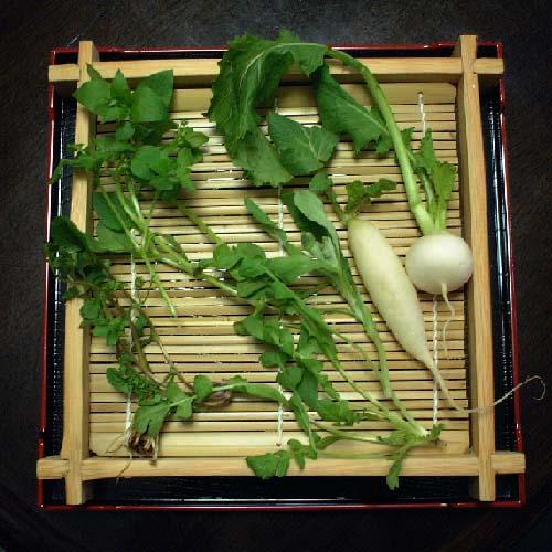nanakus2春の七草